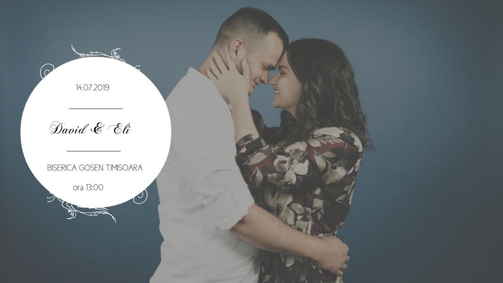 Nuntă David & Eli – 14 iulie 2019