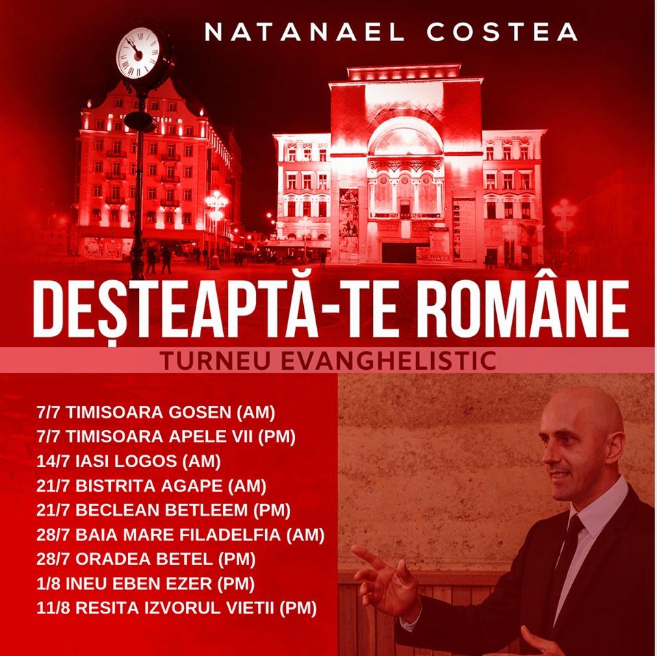 Natanael Costea la Biserica Gosen